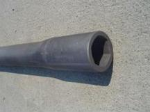 Construction Components - Auger Tuber Forging